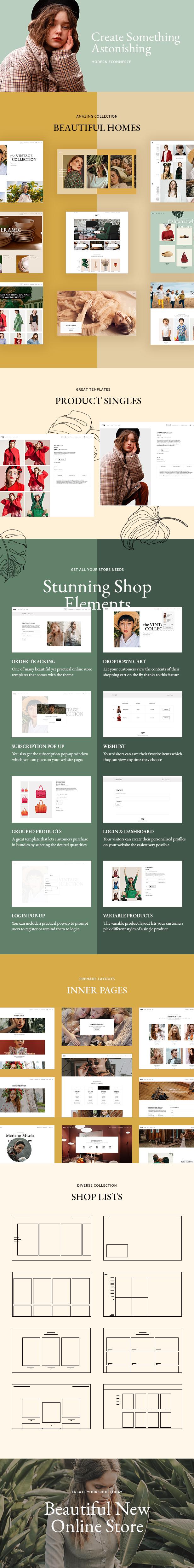 Fey - Modern eCommerce Theme - 2